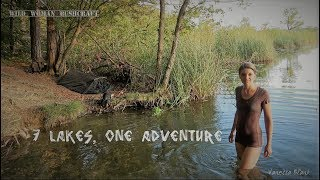 7 lakes- 1 Adventure - Camp on the Shore - Bathing in the lake - Tour Part 1 - Vanessa Blank - 4K