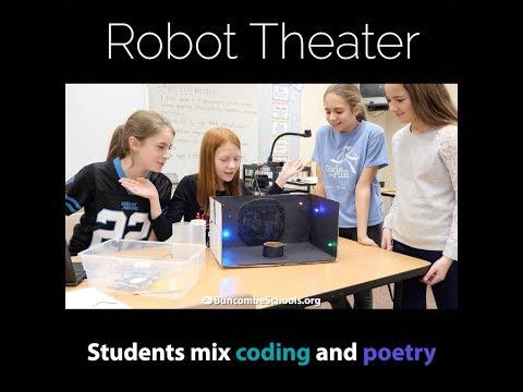 Robot Theater at North Windy Ridge Intermediate School