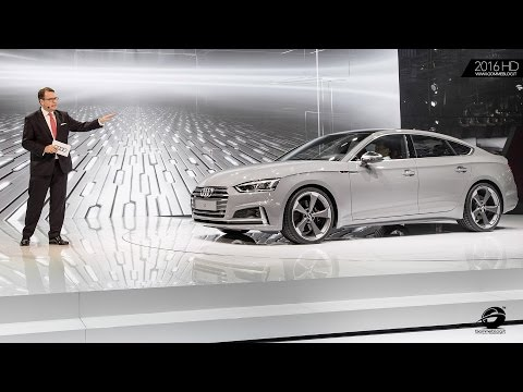 2017 Audi Q5 and Audi S5 - WORLD PREMIERE 2016 Paris Motor Show