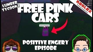 Roblox - Lumber Tycoon 2, Positive Energy Episode - Verschenken von kostenlosen rosa Autos