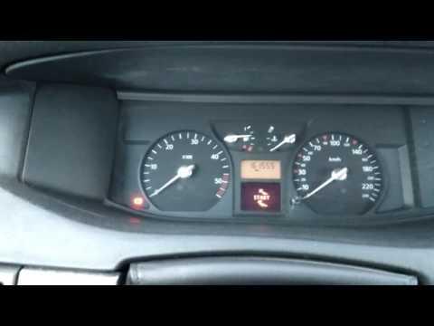 Запуск Renault Vel Satis 2.2 DCi в мороз -25.