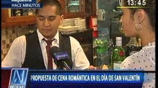 CANAL N: Propuesta gastronomica para San Valentín en Magdalena del Mar