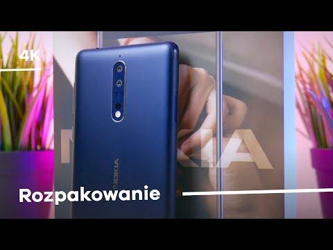 Nokia 8 Rozpakowanie + Pierwsze wrażenia [4K]