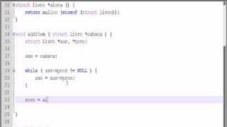 tutorial lista encadeada em c pt br