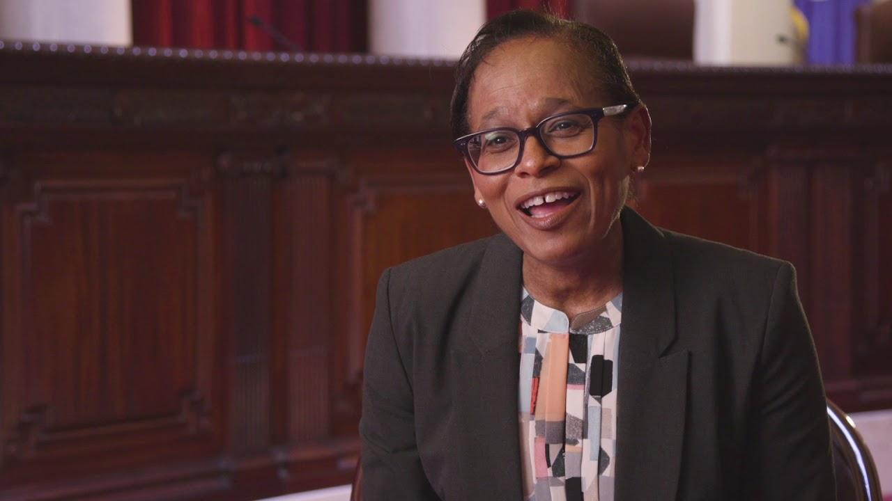 Justice Natalie E  Hudson: A Sense of Responsibility