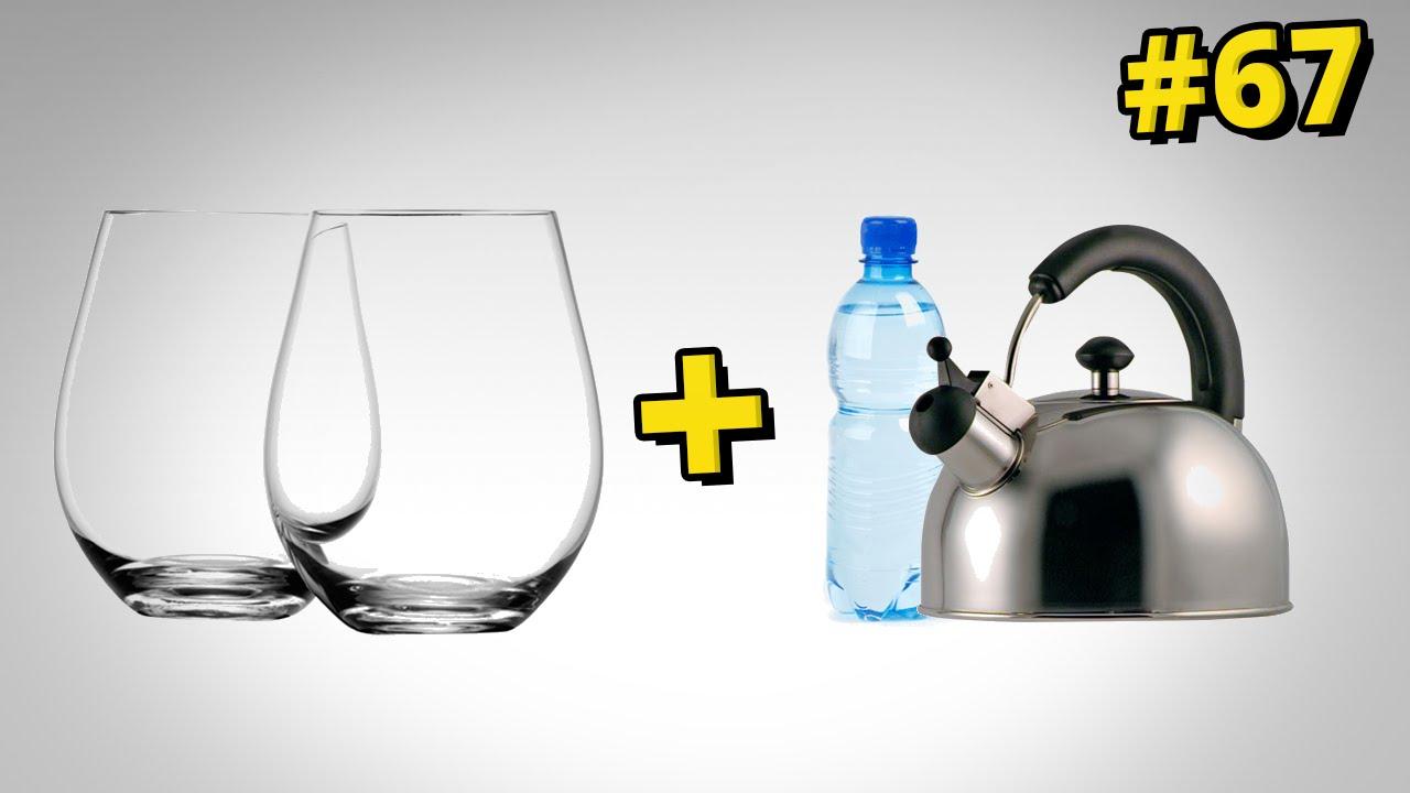 Jak rozdzielić zaklinowane szklanki