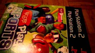 Unboxing Eye Toy Play Sports + Groove and Eye Toy Cam  PS2