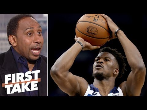 Stephen A.: Adding Jimmy Butler isnt enough for Rockets to beat Warriors | First Take