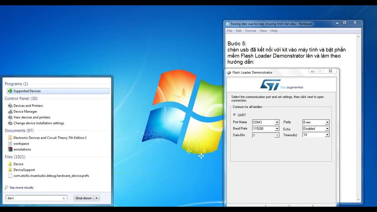 [STM32F103C8T6] khắc phục nạp chương trình lần đầu cho STM32 qua usb UART
