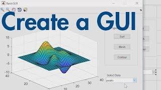 So Erstellen Sie eine GUI mit GUIDE - MATLAB-Tutorial