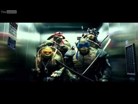 Želvy Ninja (2014) CZ DJ Mikey ve výtahu