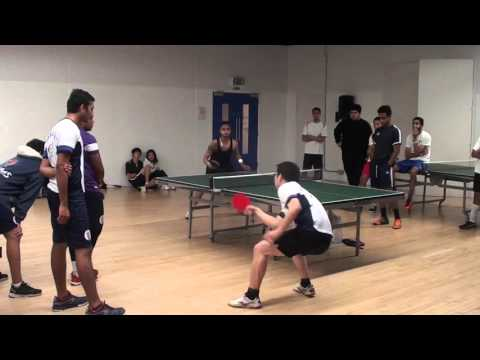 Manchester (Willy Choon) In Warwick Games 2015 Table Tennis Final