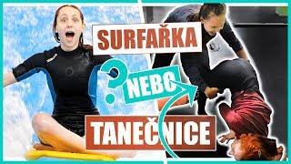 Surfařka nebo tanečnice? | SPORTOVNÍ VÝZVA #3 | Natyla