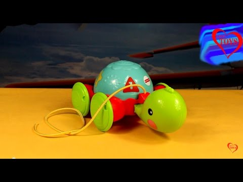 Fisher Price - Pull Along Turtle - Y8652 - Love Toys