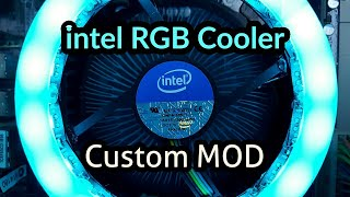 intel RGB Stock Cooler | Custom Mod | Giveaway