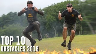 Top 10 Obstacles 2018 (All Obstacles)