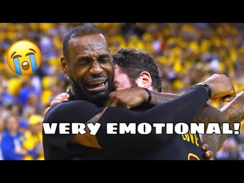 NBA PLAYERS CRYING! *VERY EMOTIONAL (TRY NOT TO CRY)