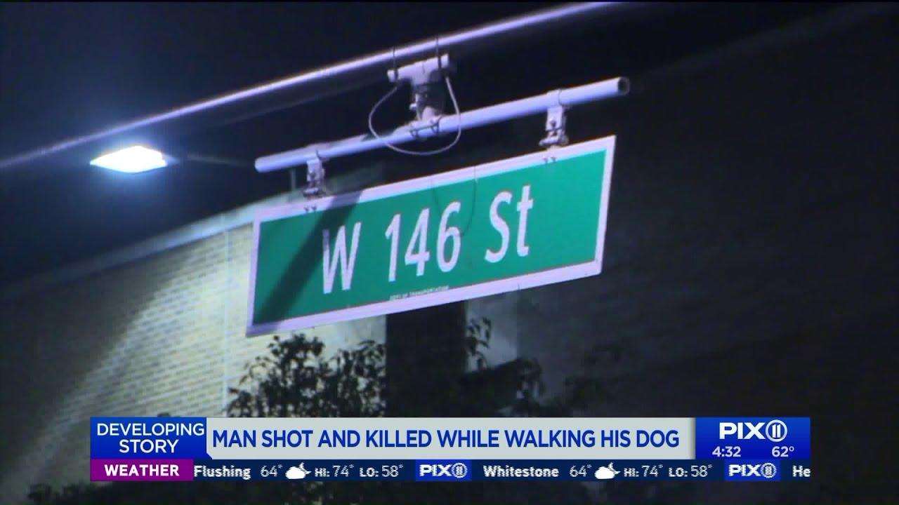 Man shot and killed while walking his dog in Harlem