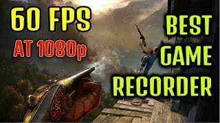 Best PC Game screen recorder|Windows 10 DVR|Record at 60 fps