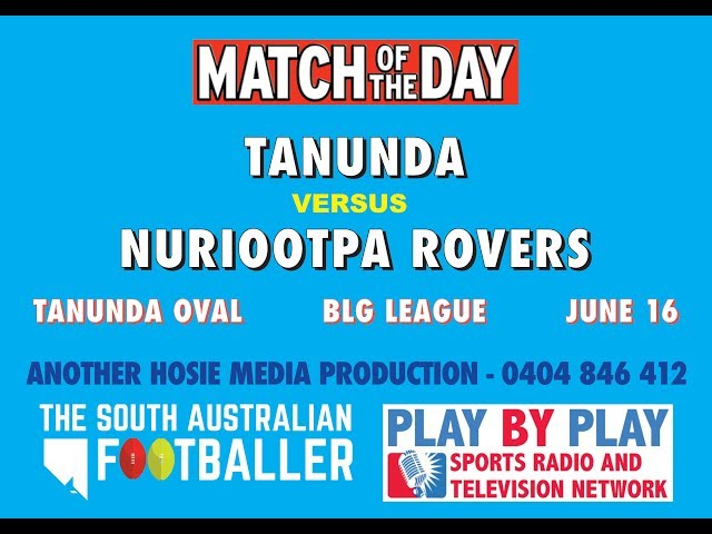 2nd quarter tanunda vs Nuriootpa