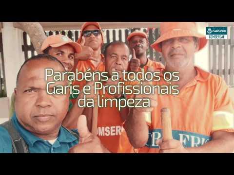 Homenagem COMSERCAF - Dia do Gari (16-05-2018)