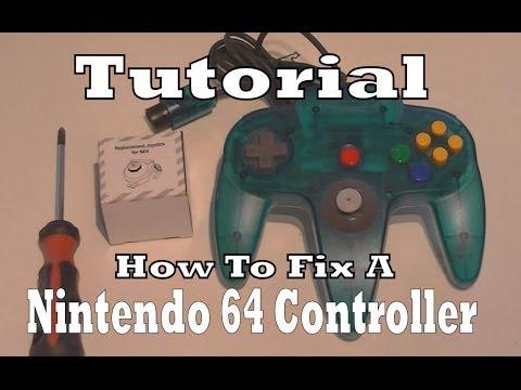 How To Repair / Fix A Broken Nintendo 64 Controller (Tutorial)