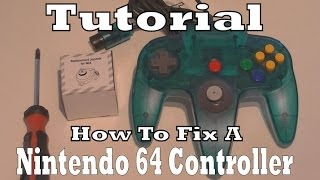How To Repair / Fix A Broken Nintendo 64 Controller (Tutorial)