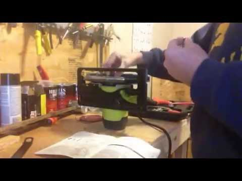 Ryobi circular saw 7 14 inch blade install youtube ryobi circular saw 7 14 inch blade install keyboard keysfo Image collections