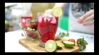 Quick & Easy Recipe Myfunfoodiary: Strawberry Mojito Non-alcohol