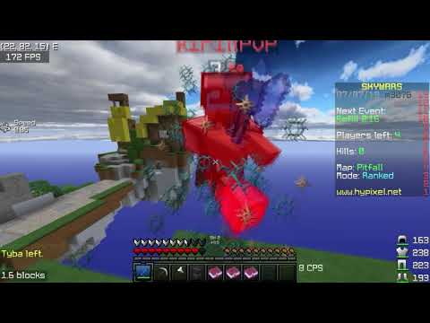 Road To Masters Division... (hypixel Ranked Skywars Uncut) Tips & Tricks