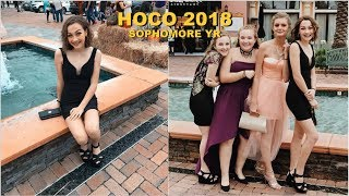 homecoming GRWM vlog