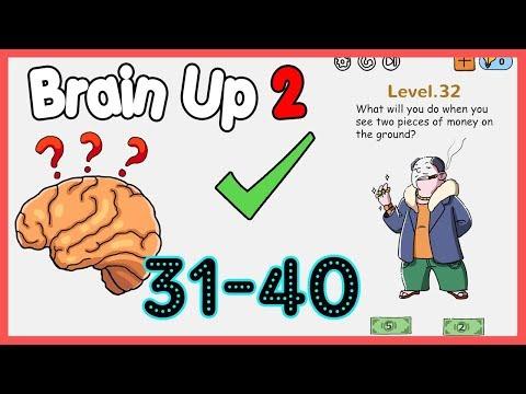 Brain Up 2 Level 31 32 33 34 35 36 37 38 39 40 Walkthrough Solution