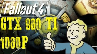 Fallout 4 Gtx 980 Ti Ultra GodRays Settings!! Fps Outside Performance 1080P