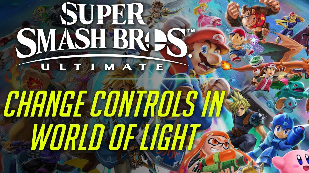 Change The Controls In World Of Light For Super Smash Bros Ultimate