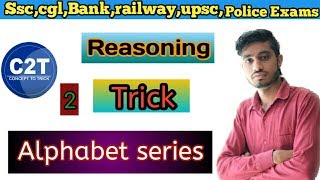#Alphabet series# reasoning tricks in hindi part-2  by concept to trick, WiFi