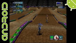 Jeremy McGrath Supercross 2000 NVIDIA SHIELD Android TV Mupen64Plus AE Emulator [1080p] Nintendo 64