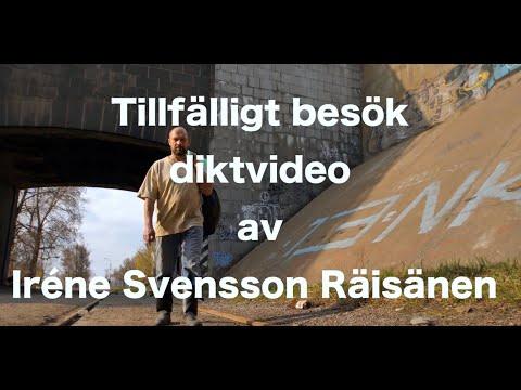 Tillfälligt besök en diktvideo av poeten Iréne Svensson Räisänen om segregation