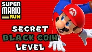 Super Mario Run: Special Black Course (All Black Coins)