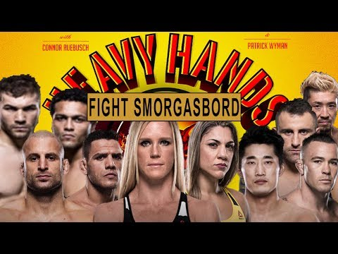 Fight Smorgasbord! UFCs Auckland & Singapore (Heavy Hands #163)