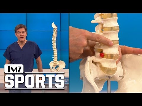 Rob Gronkowski -- Dr. Oz Explains Back Injury ... Here