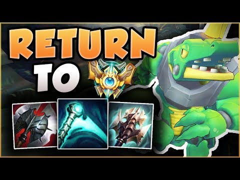 ABUSING ESSENCE REAVER ON THE CROC IN HIGH ELO?? ROAD TO CHALLENGER RETURNS! - League of Legends