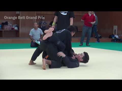 FL - Orange Belt GP - Ricardo Okumura vs Fernando Hashimoto