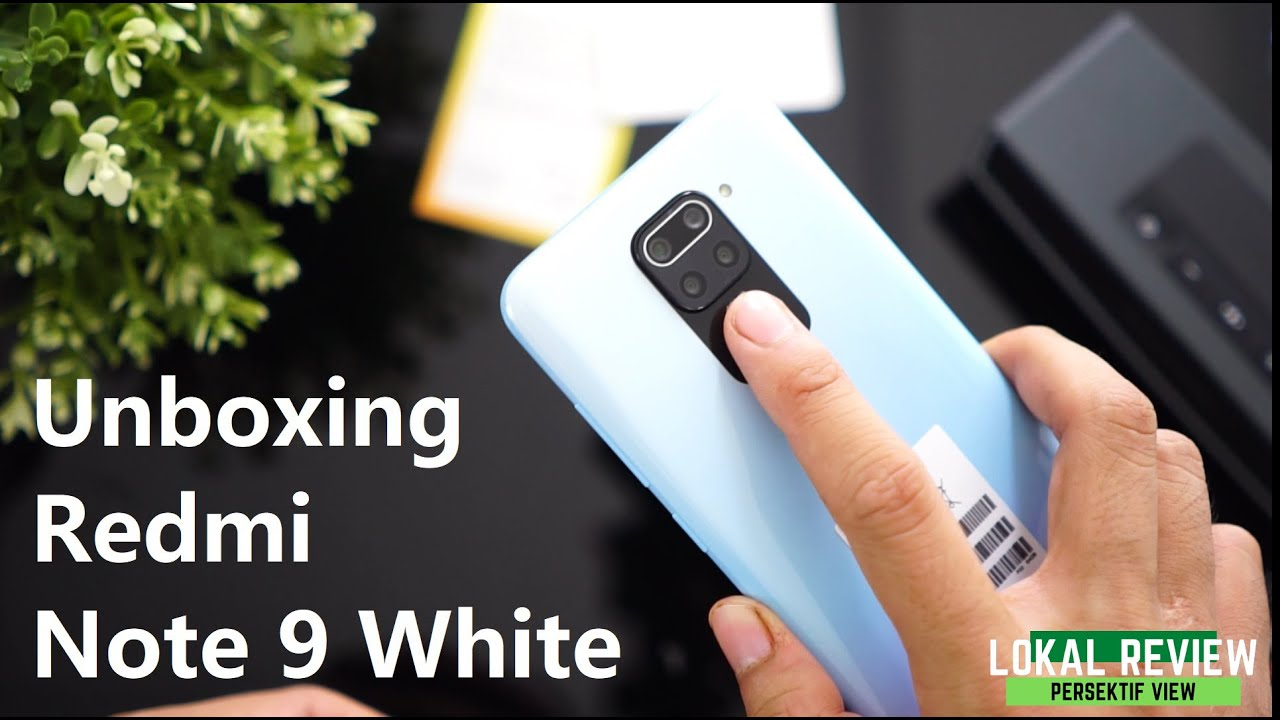 Redmi Note 9 | Unboxing & First Impression lokal Review
