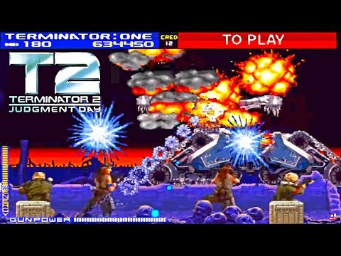 The Terminator 2 Judgment Day for Arcades from Midway