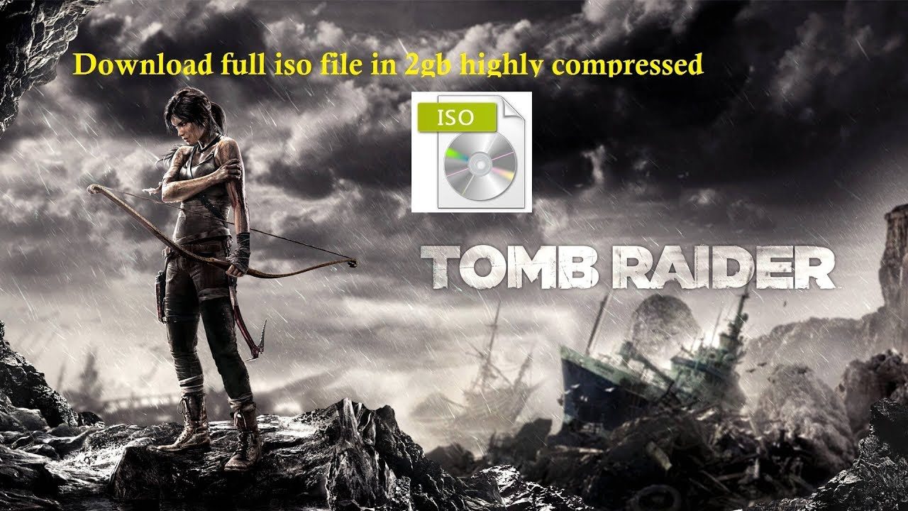 tomb raider pc iso
