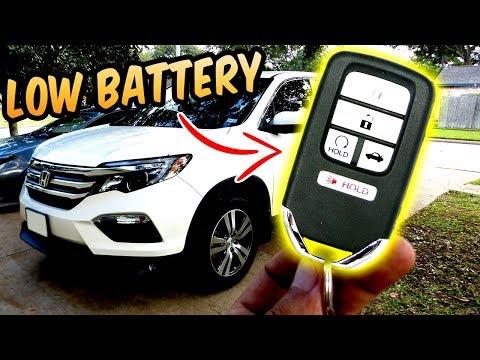 Honda Smart KEY FOB Battery Replacement