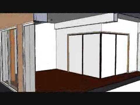 sketchup appartement japonais japanese appartment youtube. Black Bedroom Furniture Sets. Home Design Ideas