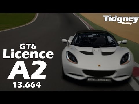 [GT6 Licence] - National A-2 (Gold) - 13.664
