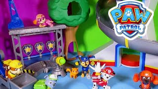 Paw Patrol [nickelodeon] Rescue Training Center Paw Patrol Play Set + Paw Patrol Look Out Parody