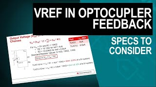 Shunt Reference Considerations for Flyback Converters with Optocoupler Feedback